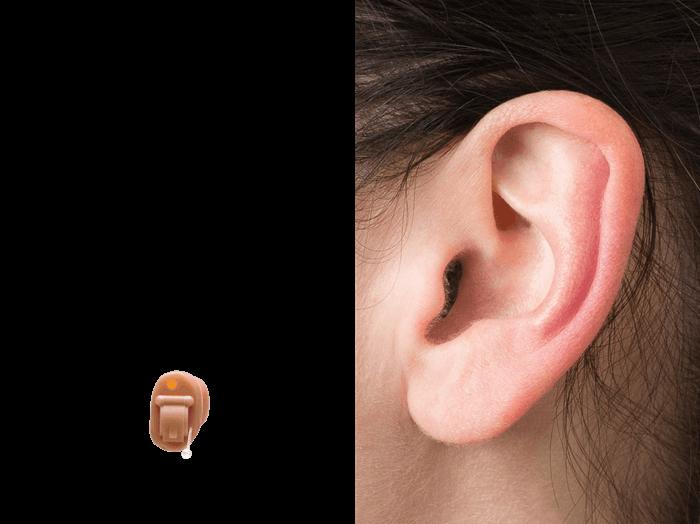IIC Behind the ear